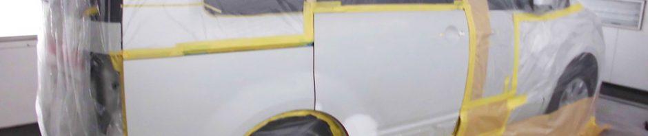 凹み傷の修理「デリカD5」鈑金塗装
