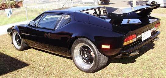 1974 DETOMASO PANTERA GTS  5.8L 5MT