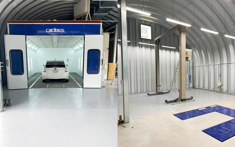 モリオート新工場建設