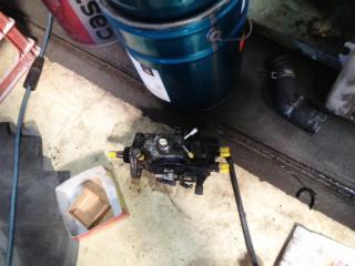 ランクルプラド燃料噴射ポンプ交換