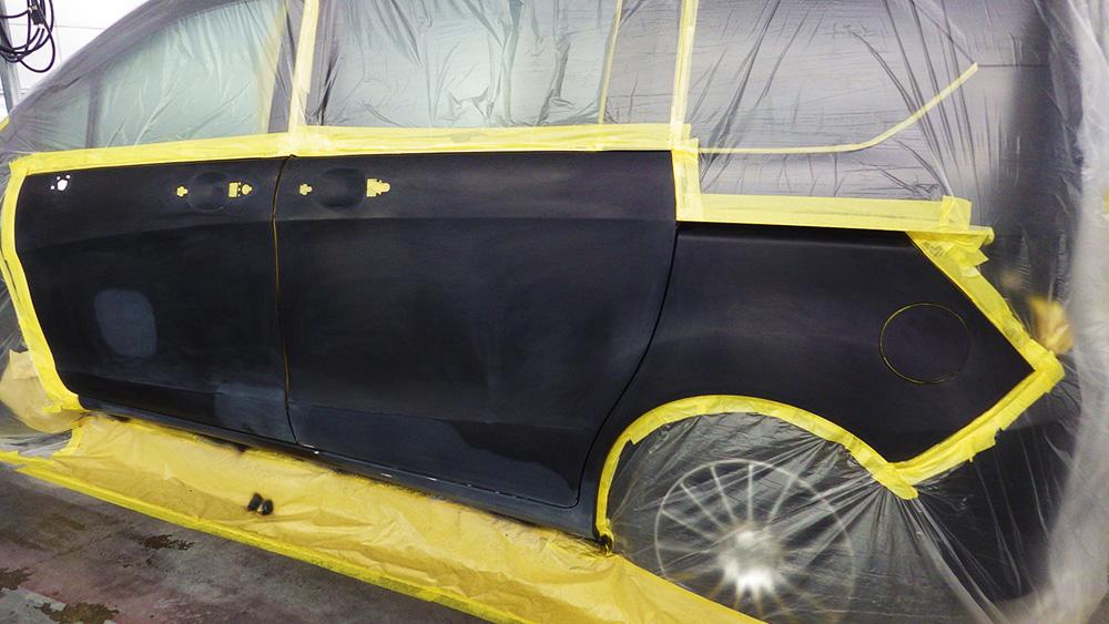 「Honda フリード」のキズ・凹み修理