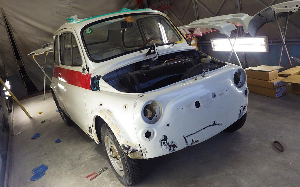 ルパン3世の車(フィアット)