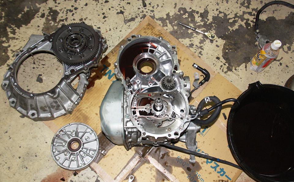 「ムーブL175S」ATオイル漏れ修理